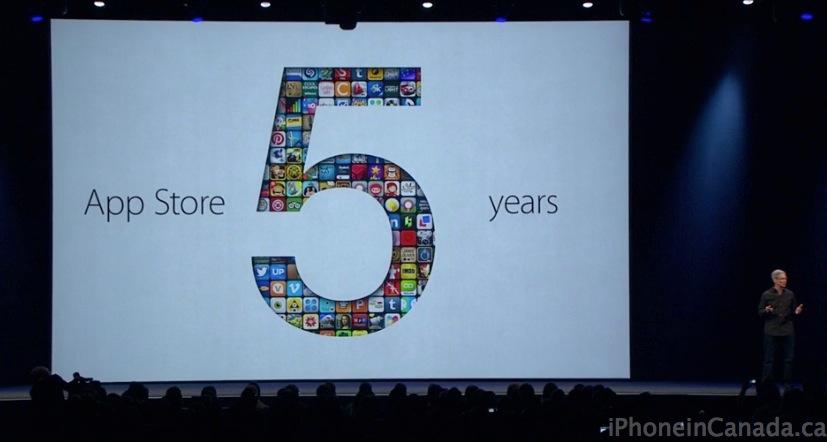 apple 5 billion developers