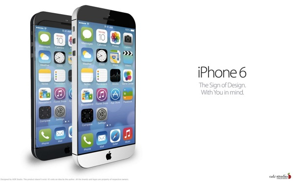 ADR Studios Dreams Up This Gorgeous 'iPhone 6' Concept Running iOS 7 [PICS]