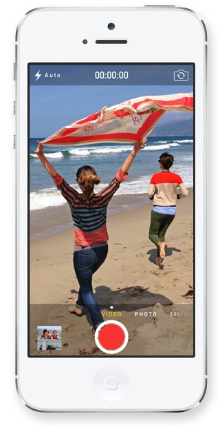 iOS 7 Allows Camera Zoom During Video Capture