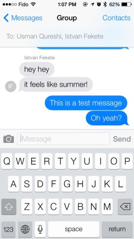 iMessage-ios7
