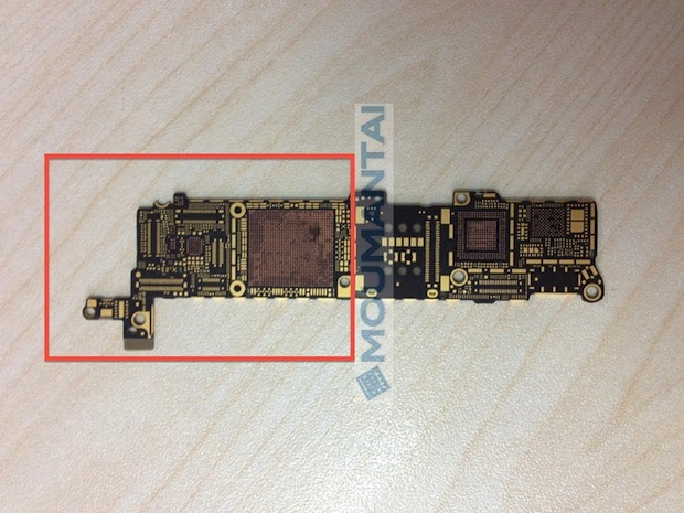 iPhone 5S printed circuit board