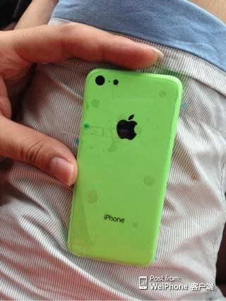 IPhone Vert Plastique