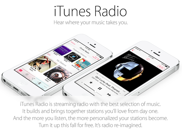 iTunes Radio-iOS7