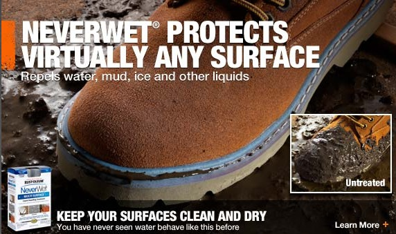 NeverWet Aims to be the 'WD-40' of Water Repellants, Works on iPhone [u]