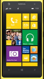 Nokia Lumia 1020 front png