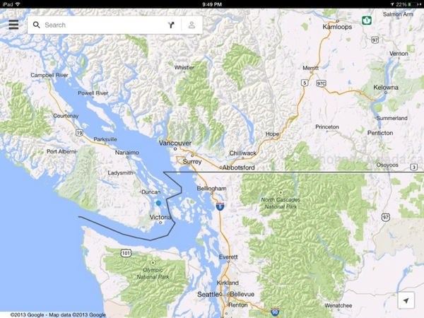 Google maps 20 for ios launches ipad version now available photo 2 gumiabroncs Gallery