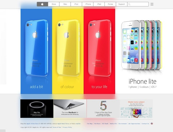 Iphone lite website
