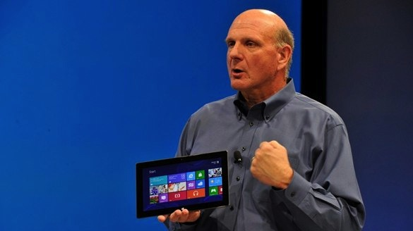 Microsoft surface tablet ballmer