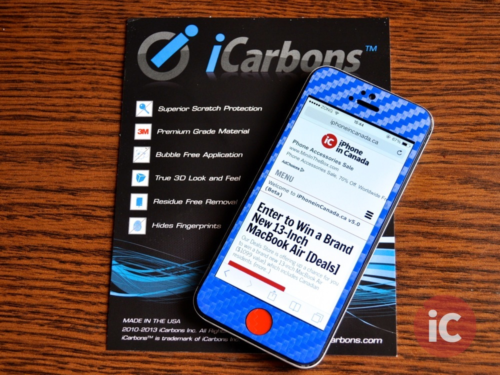GIVEAWAY: Add Some Color To Your iPhone 5 With 'iCarbons' [Winners Announced]