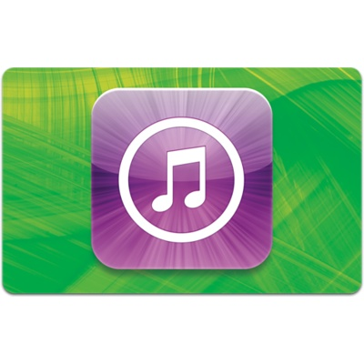 2012 giftcards itunes green 50