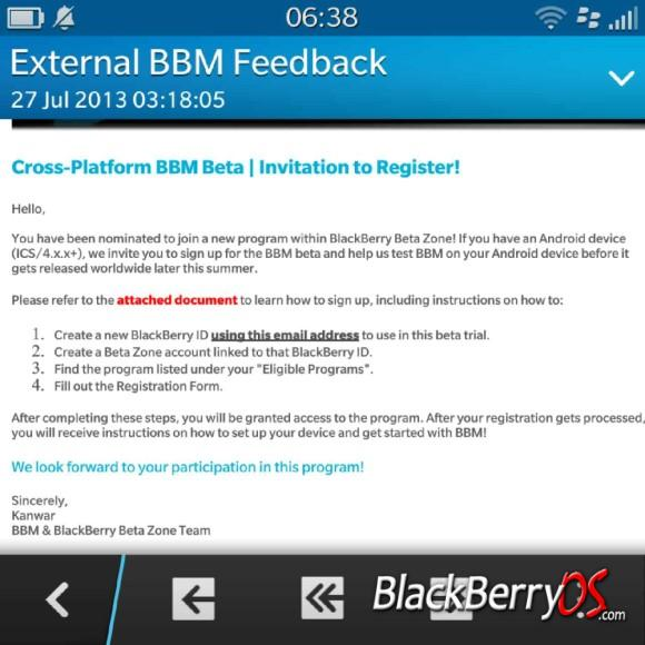 BBM AndroidEmail vzm