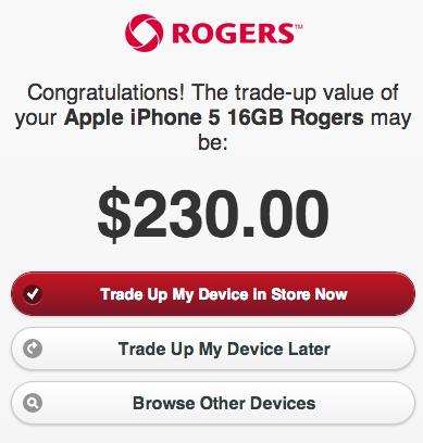 iphone trade up rogers launches trade up program includes apple s iphone 12402