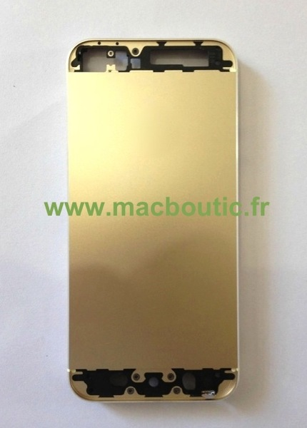 Photo 4 iPhone 5S Coque Chassis Or