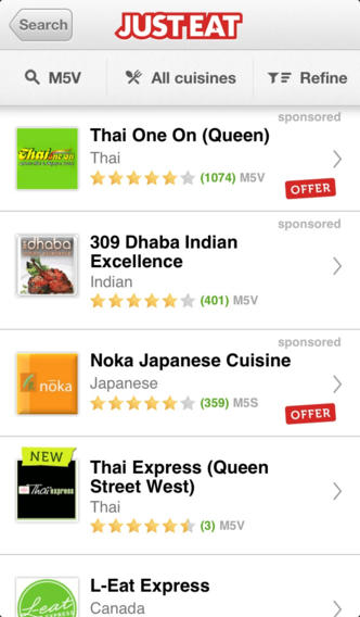 search just eat