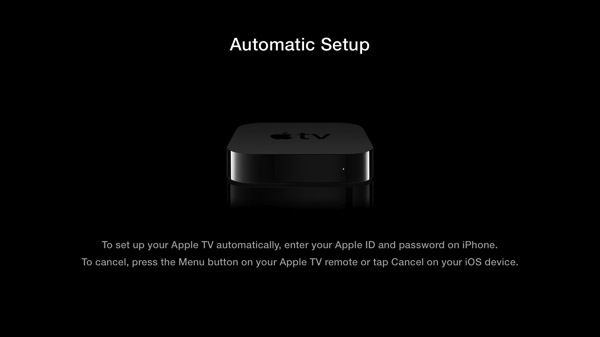 Apple TV Setup Just Got Easier: Just 'Touch' It With your iOS 7 Device