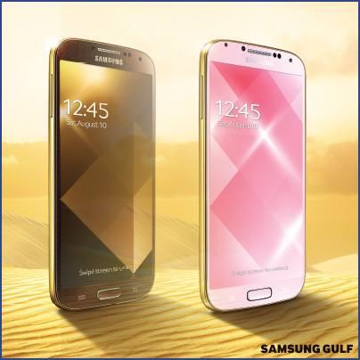 Samsung galasy s4 gold