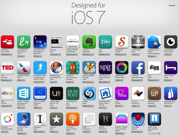 Apple Features Popular Apps