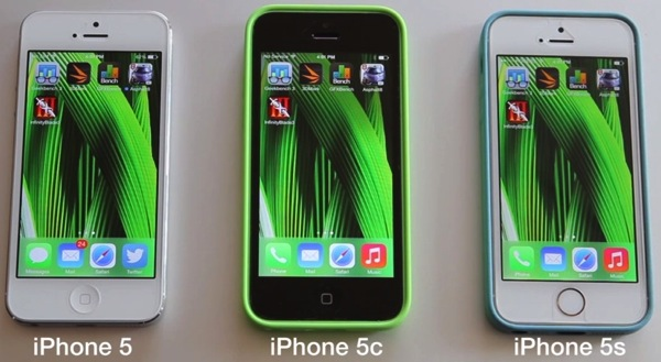 Benchmark and Speed Tests: iPhone 5s vs iPhone 5c vs iPhone 5