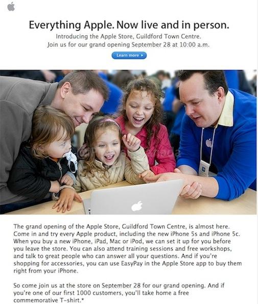 surrey apple store