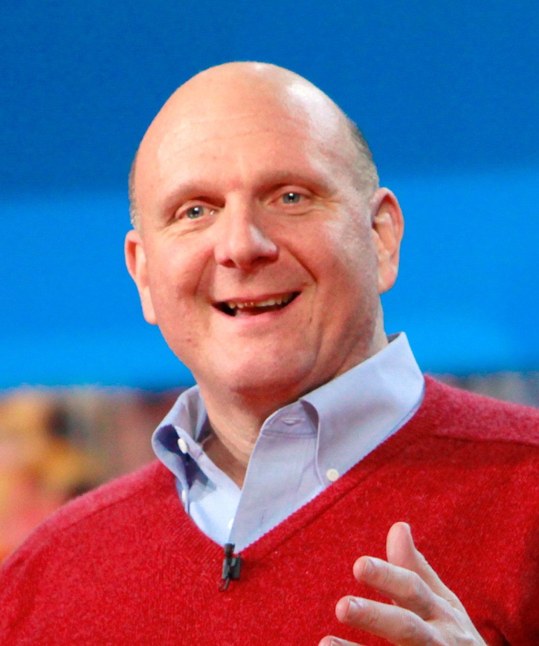 Steve Ballmer at CES 2010 cropped