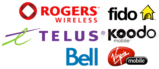 Big 3 carriers canada