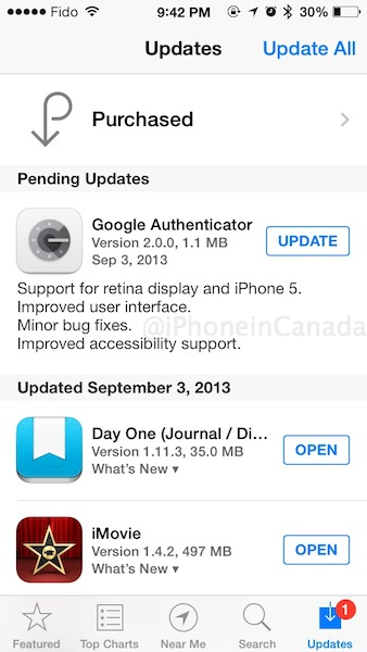 google authenticator new iphone authenticator 2 0 for ios launches supports ios 7 14209