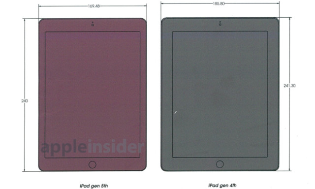 iPad 5 schematics