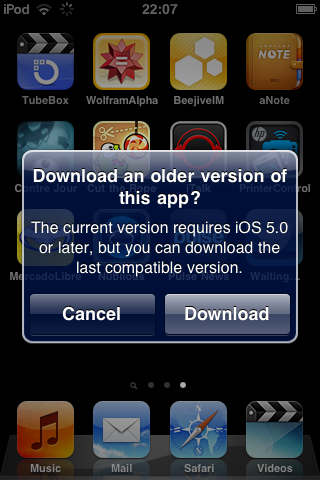ios compatible version