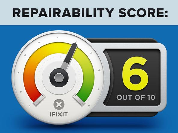 iphone 5c repairability score