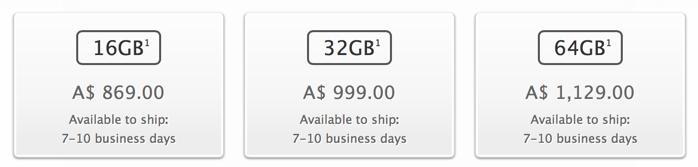 Iphone 5s availability au