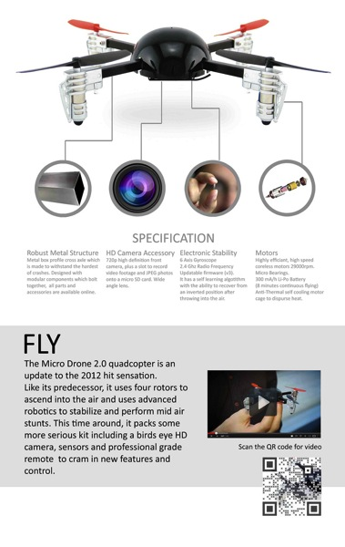 Remote Control Micro Drone Quadcopter is 50% Off [Deals]