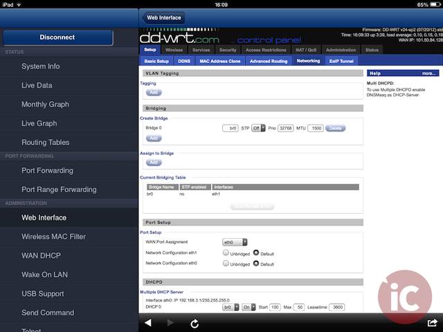 Manage Your DDW-RT Compatible Router With DD-WRT / DD-WRT HD