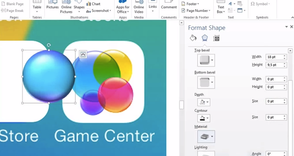 Dude Believes iOS 7 Was Created in Microsoft Word, Proves It on Video [WATCH]