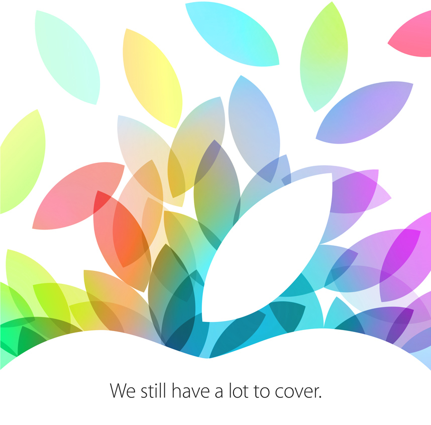 ipad event october 22 invite