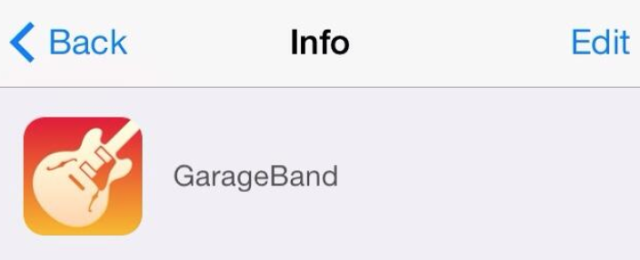 garageband ios 7