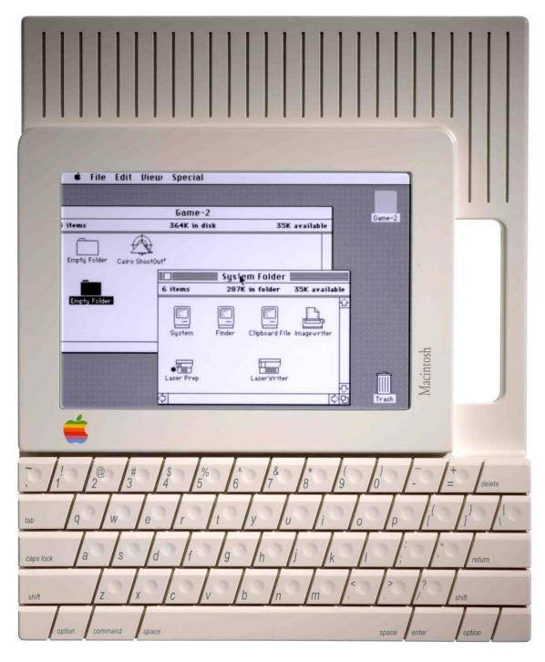 MacSlate Touchscreen 1984-85