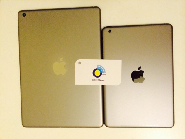 iPad 5 iPad mini 2 gold