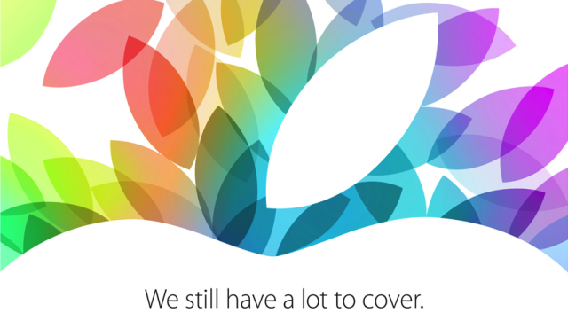 iPad event invite 2013