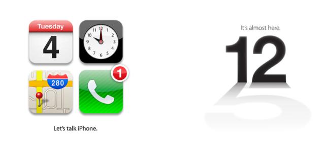 iPhone 4S iPhone 5 invite