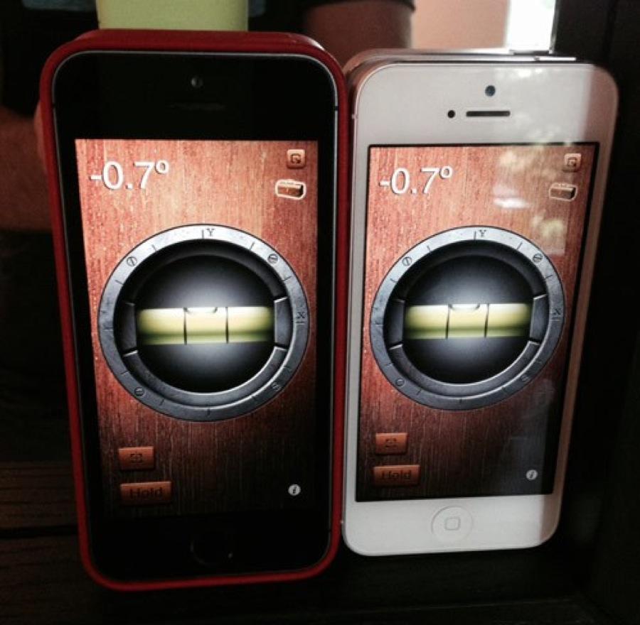 Iphone5s sensors