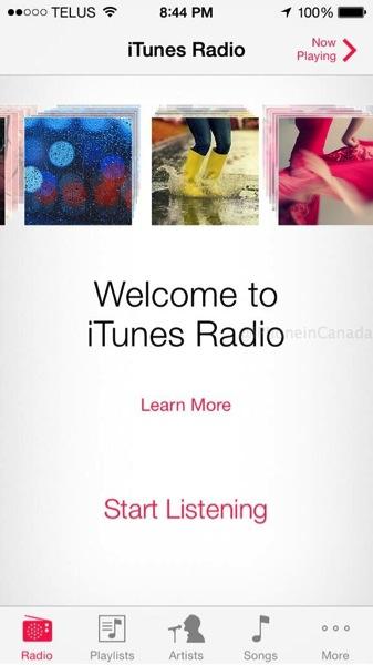 Itunes radio canada