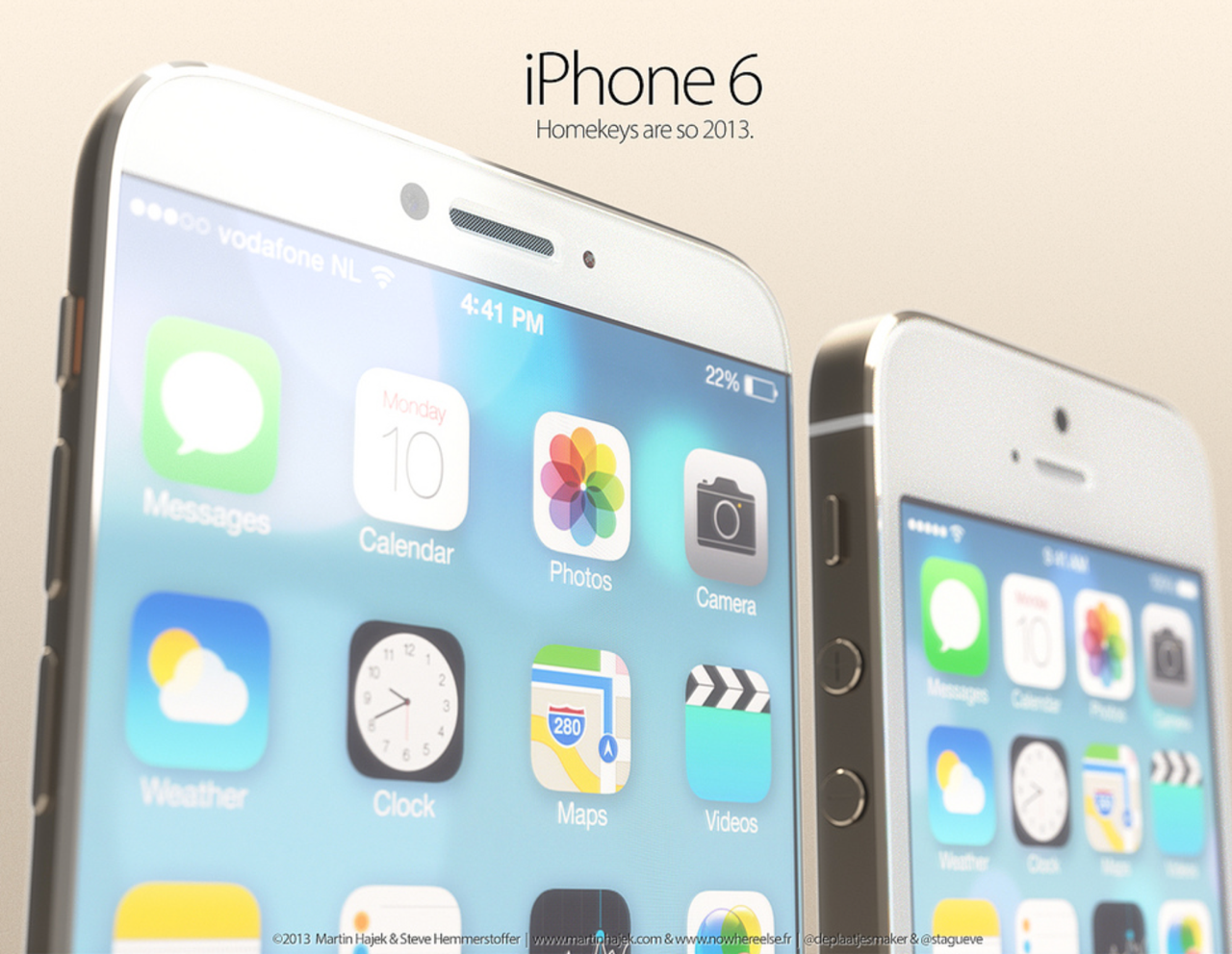 These iPhone 6 / iPhone Air Concepts Look Absolutely Stunning [PICS]
