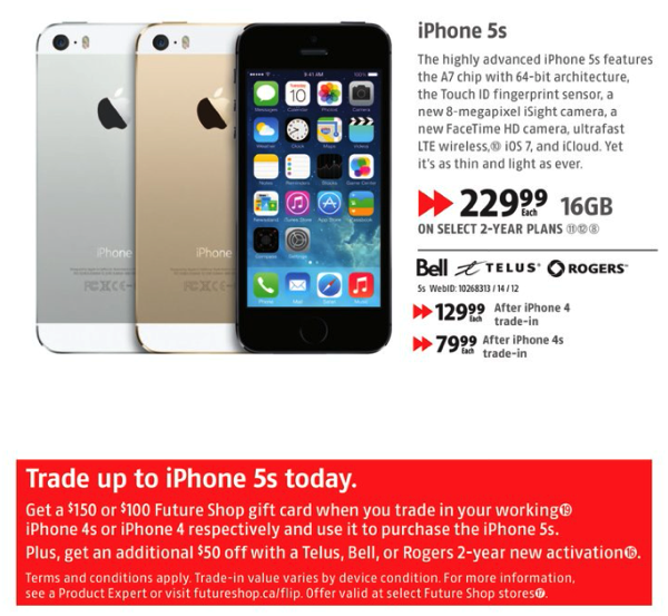 iphone 4s trade in value future shop best buy trade in iphone 4 4s for iphone 5s 1186