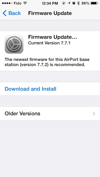 airport extreme firmware update