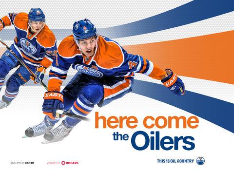 Edmonton oilers tablet