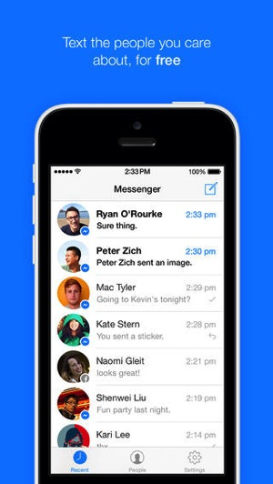Facebook Messenger Gets iOS 7 Update, Adds Ability to Text Any Number