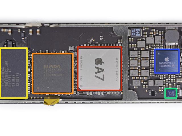 iPad Air logic board