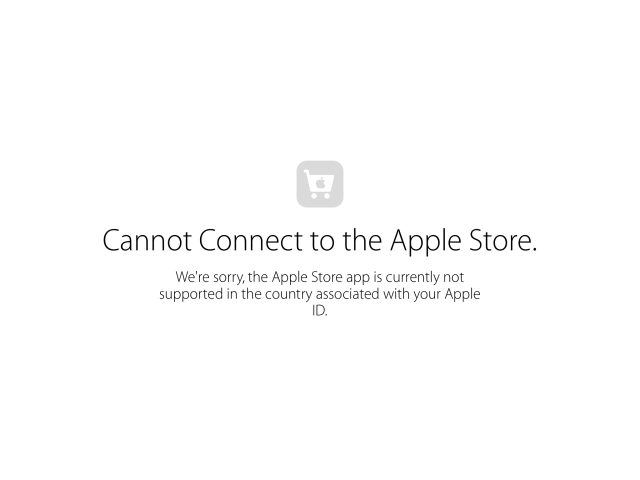 iPad apple store app canada