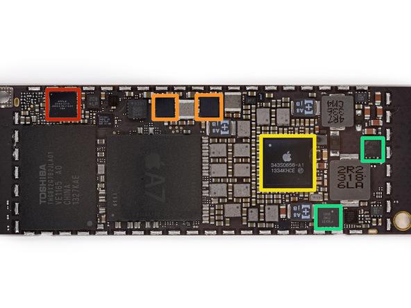 iPad mini logic board