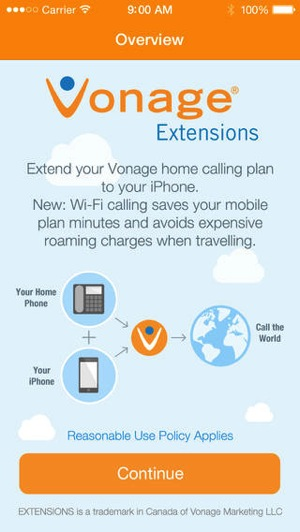 Vonage extensions